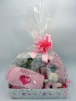 Personalised Baby Girl Gift Set - Deluxe